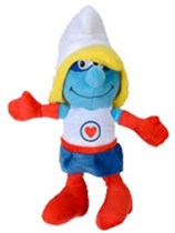Superhero Smurfette Plush Toy