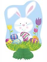 Easter Bunny Honeycomb Decorations 3pk