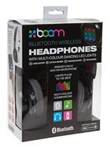 Black LED Bluetooth Wireless Headphones
