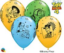 """Disney Toy Story 4 Asst. 11"""" Latex Balloons 25pk"""