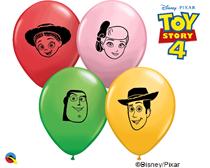 "Disney Toy Story Faces 5"" Latex Balloons 100pk"