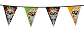 Halloween Day Of The Dead Flag Bunting 10M