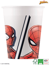 Marvel Spider-Man 200ml Paper Cups 8pk