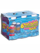 6 Pack Of Party Bubbles