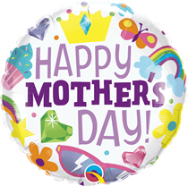 "Happy Mother's Day 18"" Foil Balloon"