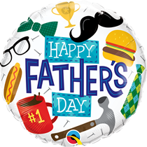 "Happy Father's Day 18"" Foil Balloon"
