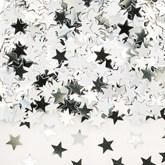 Silver Star Metallic Confetti 14g