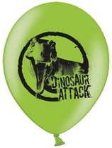 """Dinosaur Attack 11"""" Latex Balloons 6pk"""