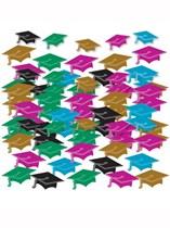 Graduation Mini Mortarboard Confetti 14g