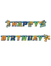 TMNT Half Shell Heroes Happy Birthday Jointed Banner