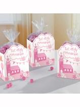 Pink Communion Church Favour Boxes 8pk