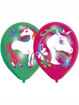 "Unicorn Party 11"" Latex Balloons 6pk"