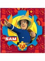 Fireman Sam Luncheon Napkins 20pk