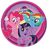 My Little Pony 23cm Paper Plates 8pk