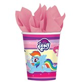 My Little Pony 250ml Paper Cups 8pk