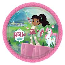Nella The Princess Knight Paper Plates 8pk