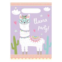 Llama Party Loot Bags 8pk