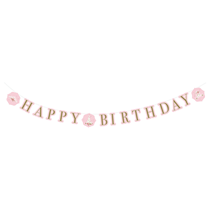 Swan Princess Happy Birthday Letter Banner 3M