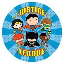Justice League 23cm Paper Plates 8pk