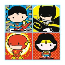 Justice League Party Lunch Napkins 16pk