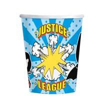 Justice League 250ml Paper Cups 8pk