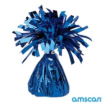 Amscan Blue Tassel balloon weight 6oz