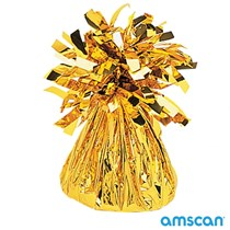 Amscan gold Tassel balloon weight 6oz