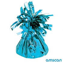 Amscan Light Blue Tassel balloon weight 6oz