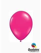"5"" Jewel Magenta Latex Balloons 100pk"