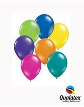 "5"" Fantasy Asst'd Colour Latex Balloons 100pk"