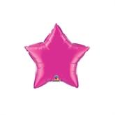 "Magenta 4"" Star Foil Balloon"