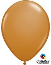 "11"" Mocha Brown Latex Balloons 100pk"