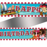 Jake & the Neverland Pirates Happy Birthday Foil Banner