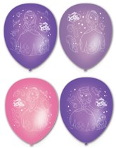 "Sofia The First 11"" Latex Balloons - 6pk"