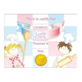 Little Cook Certificates 8pk
