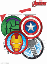 Marvel Avengers Invitations & Envelopes 6pk