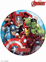 Marvel Avengers 20cm Paper Plates 8pk
