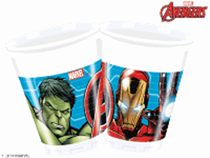 Marvel Avengers 200ml Plastic Cups 8pk