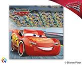 Disney Cars 3 Paper Napkins 20pk