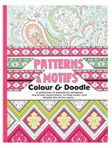 A4 Patterns Colouring Book