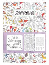 Adult Colouring & Wordsearch Book