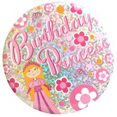Birthday Princess Big Badge