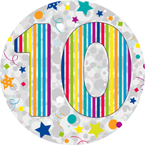 10 Holographic Big Badge