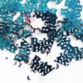 Blue Baby Boy Baby Shower Confetti