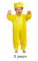 Child Cute Bear Fancy Dress Costume - Toddler
