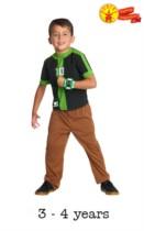 Children's Ben 10 Omniverse Fancy Dress Costume 3- 4 yrs