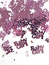 Pink Baby Girl Baby Shower Confetti