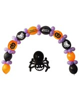 Happy Halloween Balloon Banner Kit
