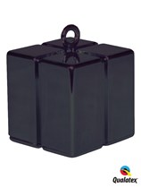 Black 3.9oz Gift Box Balloon Weight