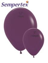 Sempertex Burgundy Latex Balloons